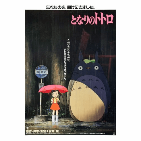 My Neighbor Totoro Movie Poster 24inx36in
