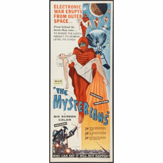 Mysterians The Movie Poster Insert 14x36 #01