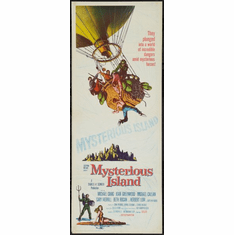 Mysterious Island 14x36 Insert Movie Poster