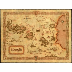 Narnia Map Mini #01 8x10 photo master print