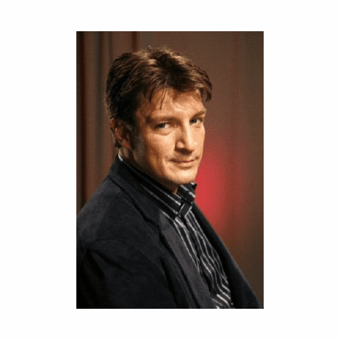 Nathan Fillion Poster 24inx36in