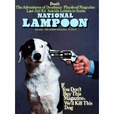 Nation Lampoon Cover Buy This Magazine Or 8x10 photo master print
