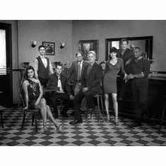 """Ncis Black and White Poster 24""""x36"""""""
