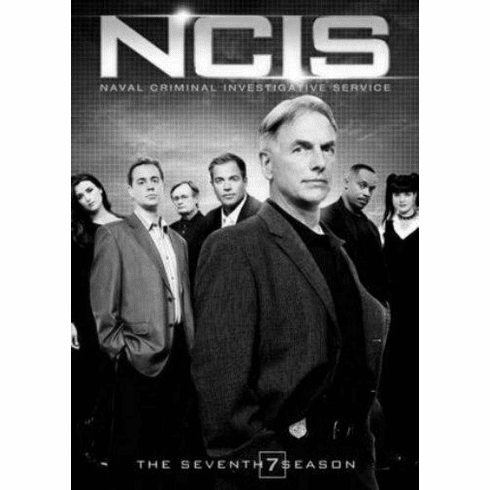 "Ncis Black and White Poster 24""x36"""