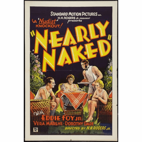 Nearly Naked Movie Poster 24inx36in
