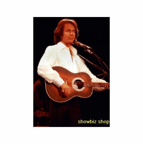 Neil Diamond Poster On Stage Guitar 24inx36in