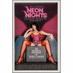 Neon Nights X Rate Poster 24x36