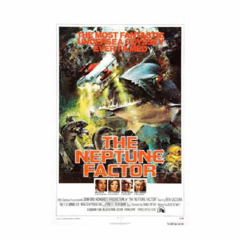 Neptune Factor The Movie Poster 24inx36in