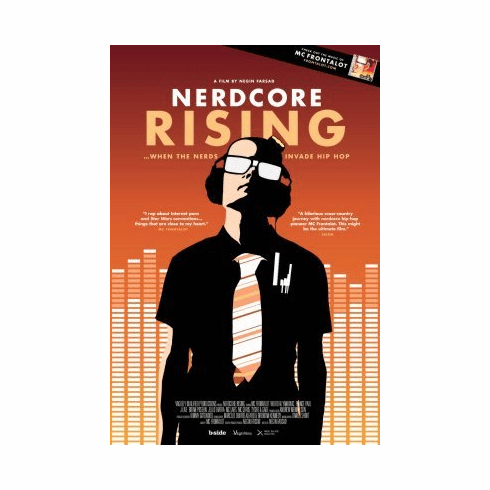 Nerdcore Rising Mini Poster 11x17