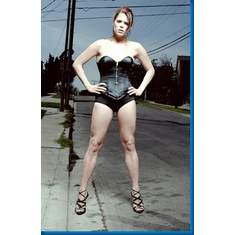Neve Campbell Bustier Poster 24inx36in