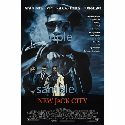 New Jack City Movie Poster 24in x36in