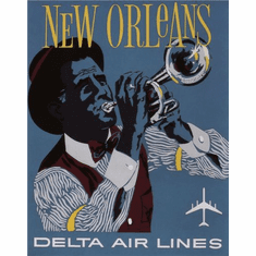New Orleans Poster 24in x36in