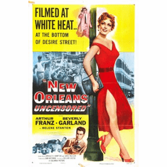 New Orleans Uncensored Movie Poster 24x36
