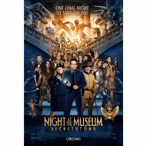 Night At Museum Movie Poster 24in x36in