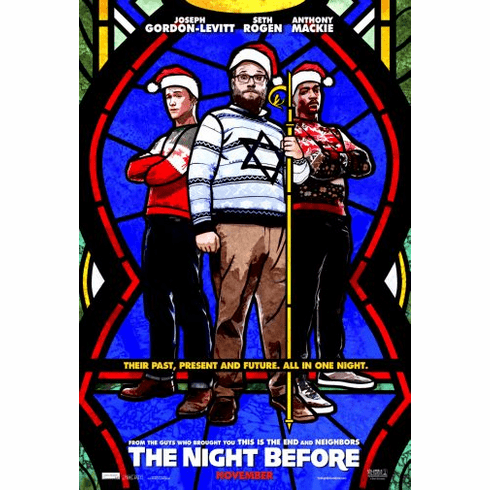 Night Before Movie Poster 24in x36in