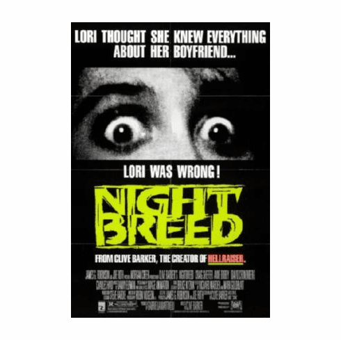 Night Breed Movie Poster 24inx36in