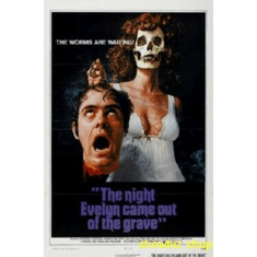 Night Evelyn Came Out Of Grave Movie 8x10 photo Master Print