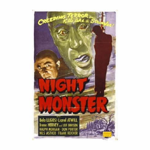 Night Monster Movie Poster 24inx36in