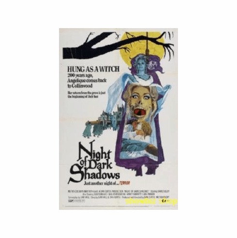 Night Of Dark Shadows Movie 8x10 photo Master Print