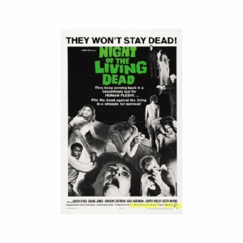 Night Of The Living Dead Movie 8x10 photo Master Print