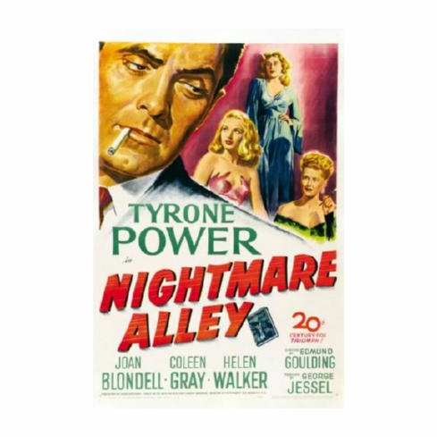 Nightmare Alley Movie Poster 24inx36in