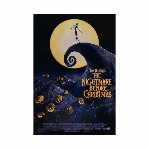Nightmare Before Christmas Movie Poster 24in x36 in