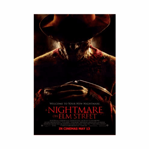 Nightmare On Elm Street Movie Poster 24x36