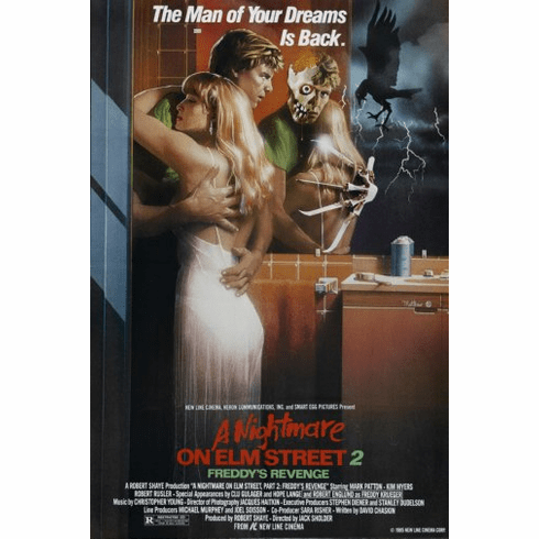 Nightmare On Elm Street Part 2 Movie Poster 24inx36in Poster