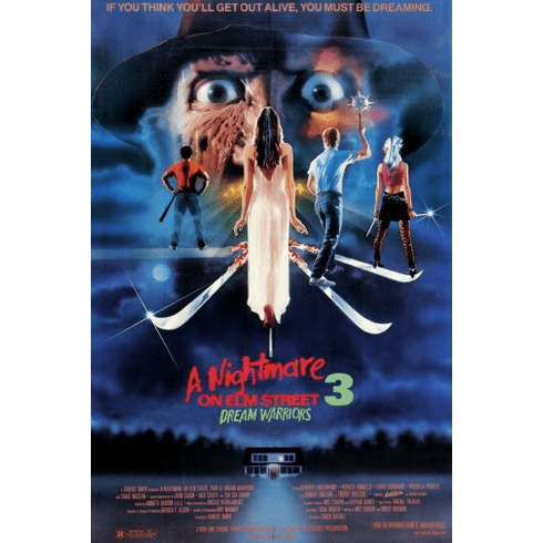 Nightmare On Elm Street Part 3 Movie Poster 24inx36in Poster