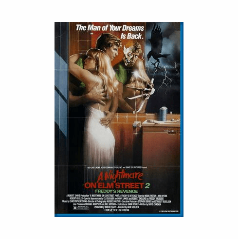 Nightmare On Elm Street Pt 2 Movie Poster 24inx36in