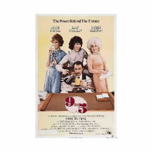 Nine To Five Poster 24inx36in