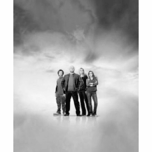 """No Ordinary Family Black and White Poster 24""""x36"""""""