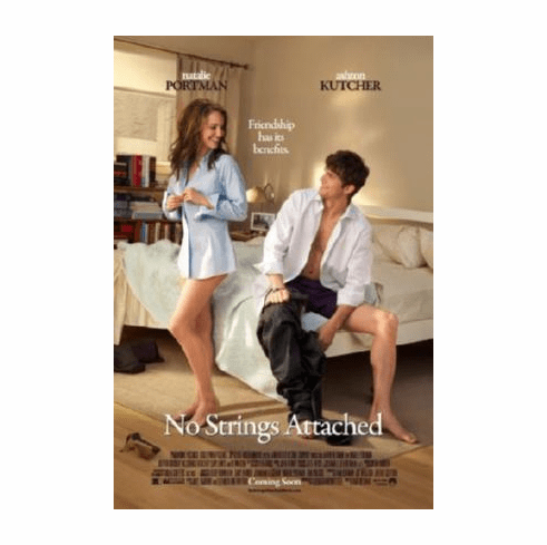 No Strings Attached Movie Poster 24inx36in