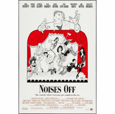 noises off 8x10 photo