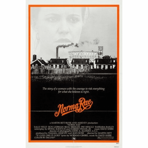 norma rae 8x10 photo