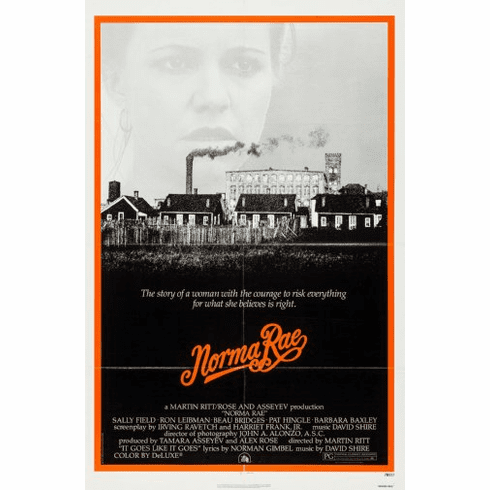 Norma Rae Movie Poster 24inx36in Poster