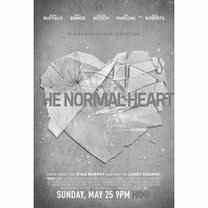 """Normal Heart The Black and White Poster 24""""x36"""""""