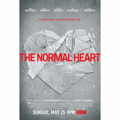 Normal Heart The poster 24inx36in Poster