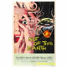 Not Of This Earth Movie 8x10 photo Master Print