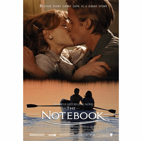 Notebook The Movie Poster 24inx36in