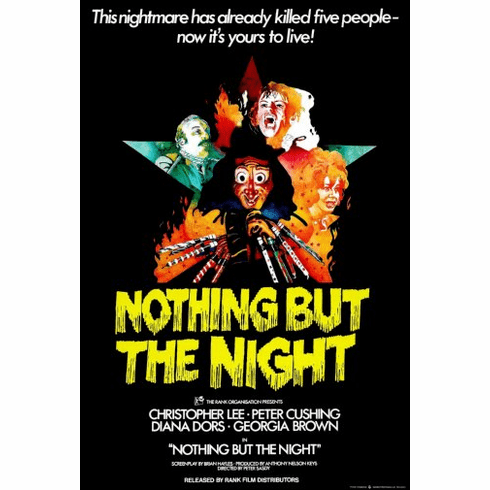 Nothing But Night Movie Poster 24inx36in