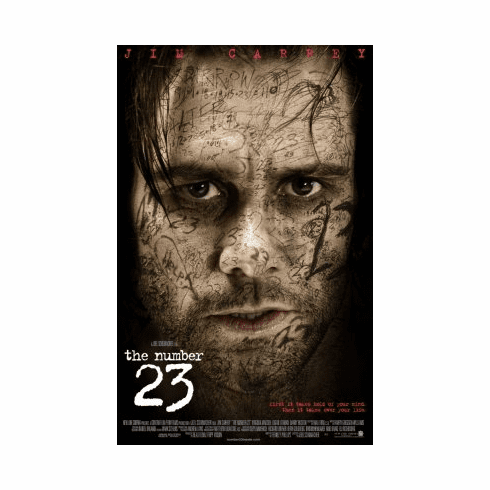 Number 23 Movie Poster 24x36