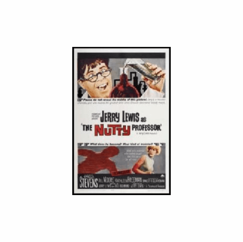 Nutty Professor Movie Poster 11x17 Mini Poster
