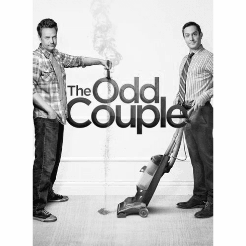 """Odd Couple Black and White Poster 24""""x36"""""""