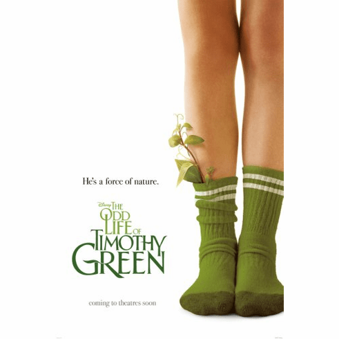 Odd Life Of Timothy Green Movie Poster 24inx36in Poster