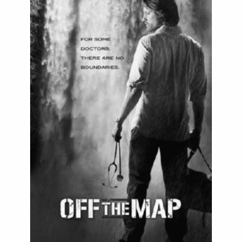 "Off The Map Black and White Poster 24""x36"""