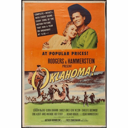 Oklahoma Movie Poster 24Inx36In Poster