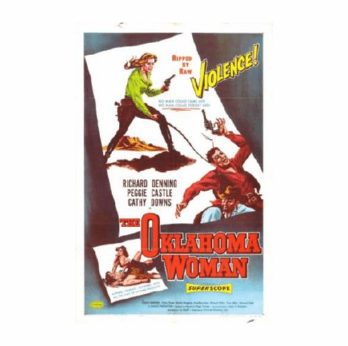 Oklahoma Woman Movie Poster 24inx36in
