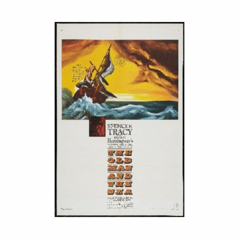 Old Man And The Sea Poster 24inx36in