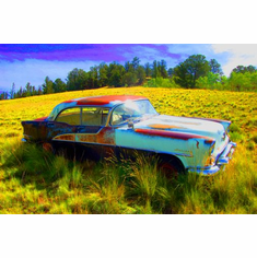 Oldsmobile Holiday Ultra Color 11in x 17in Poster Print